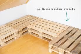 sofa paletten selbstgemachtes sofa aus europaletten kreativliebe