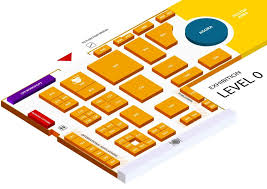 Exhibition Floor Plan Exhibition And Industry