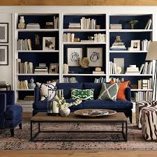 Blue Bookcases Shelf Styling With Diy Art U2026 Forever Cottage
