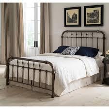 Bedroom Furniture Metal Headboards Bed Frames Wrought Iron Bed Frame Queen Queen Iron Headboard