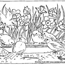 coloring garden kids drawing coloring pages marisa