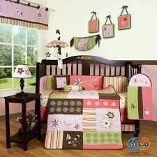 Boutique Crib Bedding Geenny Boutique 13 Crib Bedding Set Floral