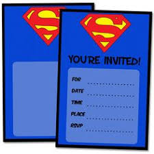 printable u003e supergirl superman birthday party favor bags favors