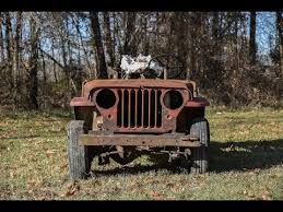 willys jeep off road willys jeep from wreck to rescue in 3 weeks youtube weekend