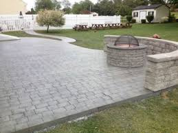 Ep Henry Fire Pit by Ep Henry Fire Pit Limestone Gray And Ep Henry Sitting Wall Lime