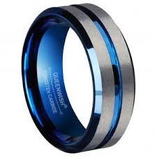 mens blue wedding bands queenwish infinity wedding bands engagement rings necklaces