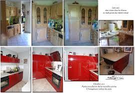 cuisine avant apr鑚 photos avant après de cuisines intégrées salles de bain et