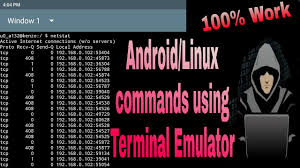 android terminal emulator commands android commands using terminal emulator tutorial 1
