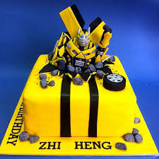 transformers cake decorations bumblebee transformers fondant cakes jb kl penang cakedeliver
