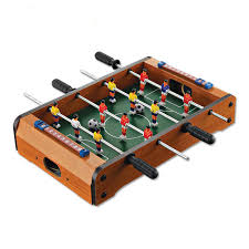 table top football games 4 bars soccer table game wooden toys for kids children s toy