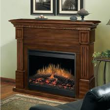 slater black electric fireplace mantel package dcf44b walnut