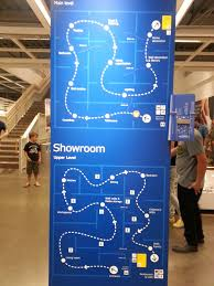 ikea hours ikea maze map without it you will get lost for hours damn you