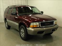 2000 Gmc Jimmy Interior Gmc Jimmy For Sale In Michigan Carsforsale Com