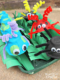 summer camp how to make bugs design dazzle