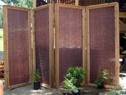 Outdoor Room Divider Ideas Outdoor Privacy Screens For Decks Wooden Garden Parion Ideas Home
