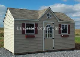 Storage Shed With Windows Designs Storage Structures Vinyl Siding Standard Design