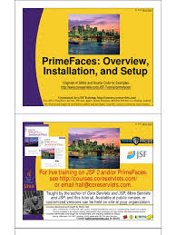 tutorial java primefaces primefaces overview setup installation java server faces java