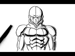 how to draw hit dragon ball super youtube