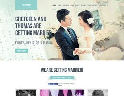 Marriage Invitation Websites 34 Best Wedding Wordpress Themes 2017 Athemes