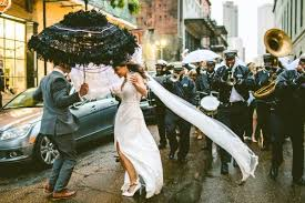 second line wedding eccentric new orleans wedding at the pharmacy museum and race