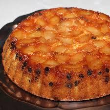 recette de cuisine gateau recette gâteau au yaourt aux poires caramélisées et pépites de