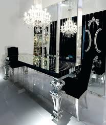 mirrored dining room table mirror dining room table bemine co