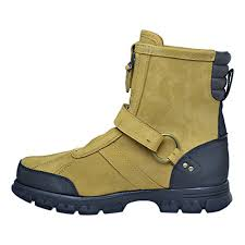 s rugged boots polo ralph s conquest hi iii rugged boots wheat nubuck