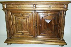 french antique cabinets gothic renaissance louis xiii styles