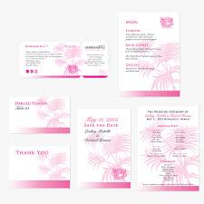 boarding pass save the date wedding invitations boarding pass tropical insert