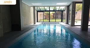 chambre avec deauville réalisation d une piscine d intérieur à deauville par la maison des