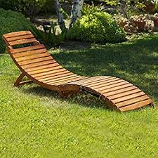 Teak Chaise Lounge Chairs Amazon Com Set Of 2 Paolo Outdoor Teak Brown Wood Chaise