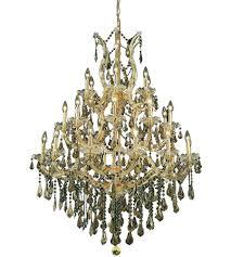 Maria Theresa Chandelier Elegant Lighting 2801d38g Gt Rc Maria Theresa 28 Light 38 Inch