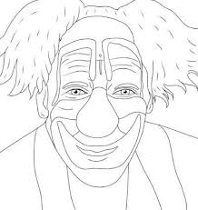 coloring pages of scary clowns coloring pages creepy coloring pages mycoloring free printable