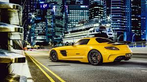 mercedes sls wallpaper mercedes benz sls amg in town hd wallpapers 4k macbook and