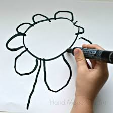 Vase Drawing Digital Flower Still Life Kids Steam Lab