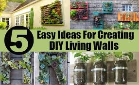 5 remarkably easy ideas for creating diy living walls diy home