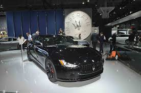 maserati blacked out introducing the lustrous black beauty that is maserati u0027s special