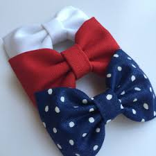 fourth of july hair bows minion inspired hair bow set from from seaside sparrow bows