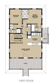 two bedroom cabin floor plans beach style house plan 3 beds 3 baths 1413 sq ft plan 536 1