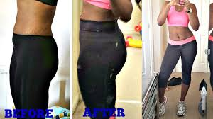After Challenge 30 Days Squat Challenge Result Before And After Pics
