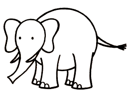 cartoon drawing of elephant archives pencil drawing collection