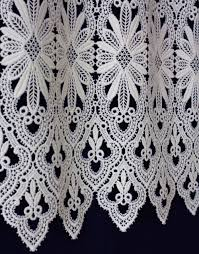 Lace Valance Curtains Macrame Lace Cafe Curtain Valance Curtain