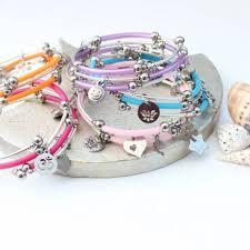 wrap bracelet with charms images Colour pop wrap bracelet with charms bish bosh becca jpg