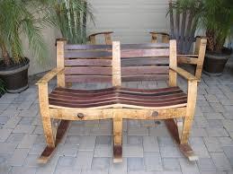 Wine Barrel Patio Table Woodworking Rocking Chair Wine Barrel Furniture Plans Pdf Dma