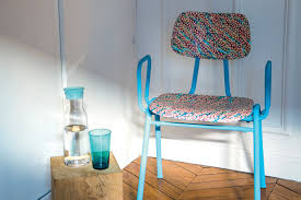 renover une chaise tissu liberty diy chaise