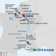 France Map Outline by River Map France Maps Barges In France Canals Of France Rivers Of