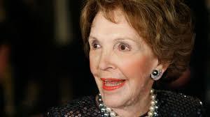 Nancy Reagan Nancy Reagan Lies In Repose At Reagan Library Abc7 Com
