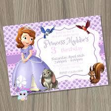 sofia the party ideas sofia the invitation the invitation princess invite