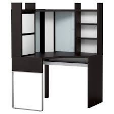 any suggestions on how to make micke corner desk work with dual
