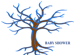 baby shower tree baby shower guest tree clip at clker vector clip